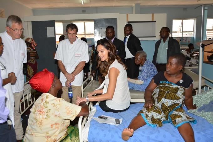 Tasha de Vasconcelos poursuit son combat au Malawi