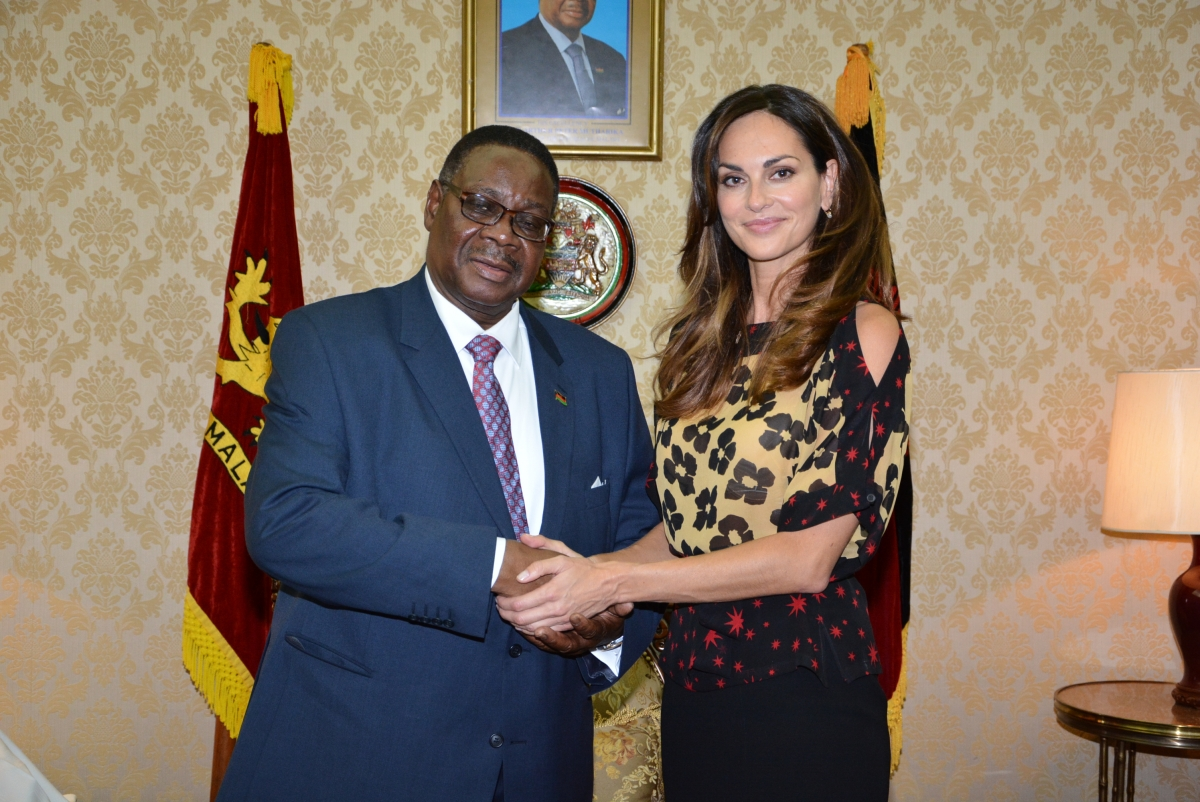 Official meeting with President of Republic of Malawi HE Professor Peter Mutharika at State House